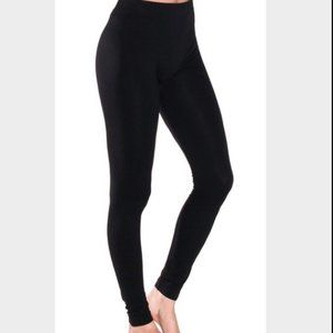 NWT Connection 18 S/M Black Seamless Leggings